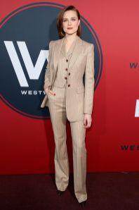 Evan Rachel Wood in Altuzarra alla premiere di Westworld