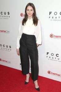 Felicity Jones al CinemaCon 2018, Las Vegas