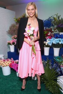 Karlie Kloss alle Swarovski's Times Square celebration, New York