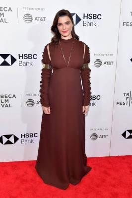 Rachel Weisz in Chloè alla 'Disobedience' premiere, Tribeca Film Festival