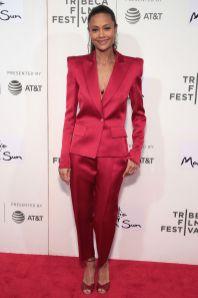 Thandie Newton in Schiaparelli al Tribeca Film Festival After-Party, New York