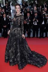 Alessandra Ambrosio in Zuhair Murad al Cannes film Festival