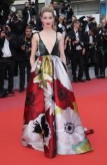 Amber Heard in Valentino alla Cannes Film Festival 2018