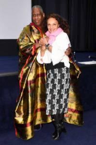 André Leon Talley e Diane von Furstenberg al 'The Gospel According to Andre' premiere, New York