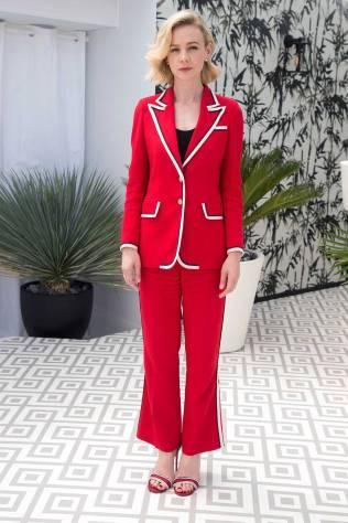 Carey Mulligan in Gucci al Cannes Film Festival 2018