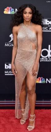 Ciara in Julien Macdonald ai Billboard Awards 2018