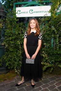 Olivia Cooke in Dior al Welcome Dinner di Christian Dior Couture S/S 2019 Cruise Collection, Paris