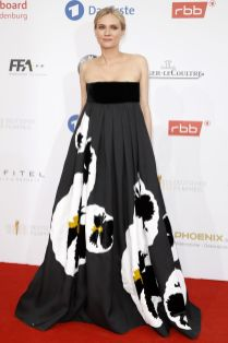 Diane Kruger in Valentino aiGerman Film Awards, Berlin.