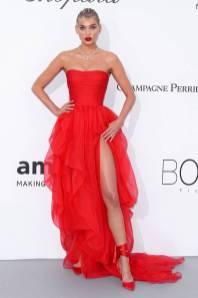 Elsa Hosk in Ermanno Scervino all'amfAR Gala, Cannes