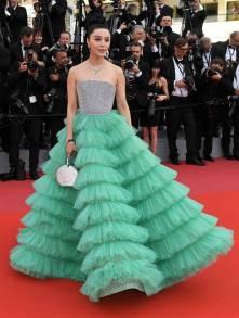 Fan Bingbing in Ali Karoui Couture al Cannes Film Festival 2018