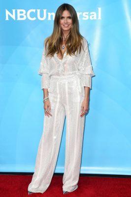 Heidi Klum al NBC Universal press event, California