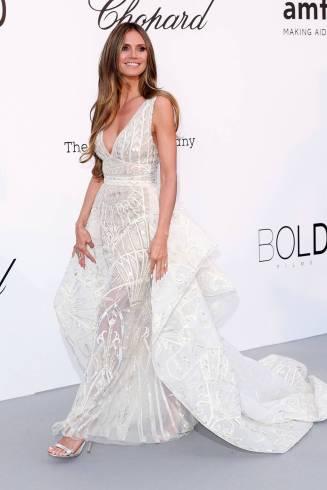 Titolo Heidi Klum all'amfAR Gala, Cannes Didascalia