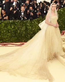 Kate Bosworth in OScar de la Renta al Met Gala 2018