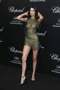 Kendall Jenner al Secret Chopard party, Cannes