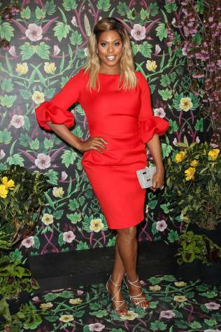 Laverne Cox al Planned Parenthood gala, New York