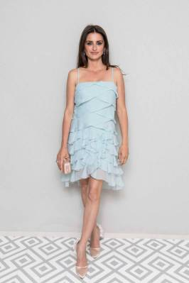 Penelope Cruz in Chanel al Chanel and Vanity Fair France party, Cannes Film Festival