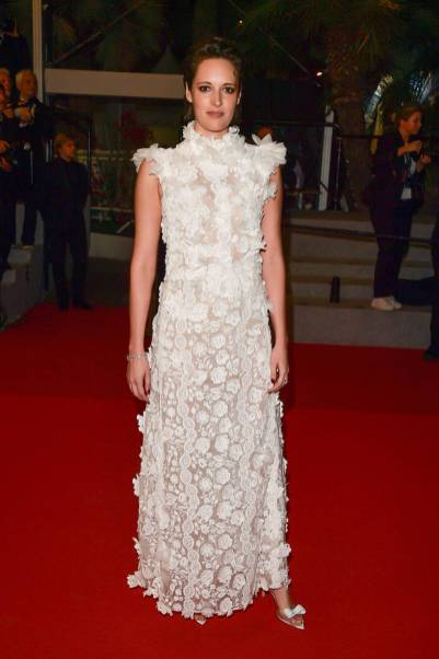 Phoebe Waller-Bridge in Giambattista Valli alla 'Solo A Star Wars Story' premiere, Cannes Film Festival