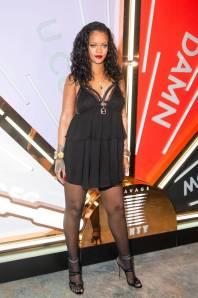 Rihanna in Savage X Fenty al Savage X Fenty launch, New York