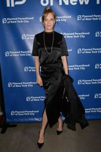 Uma Thurman al Planned Parenthood gala, New York
