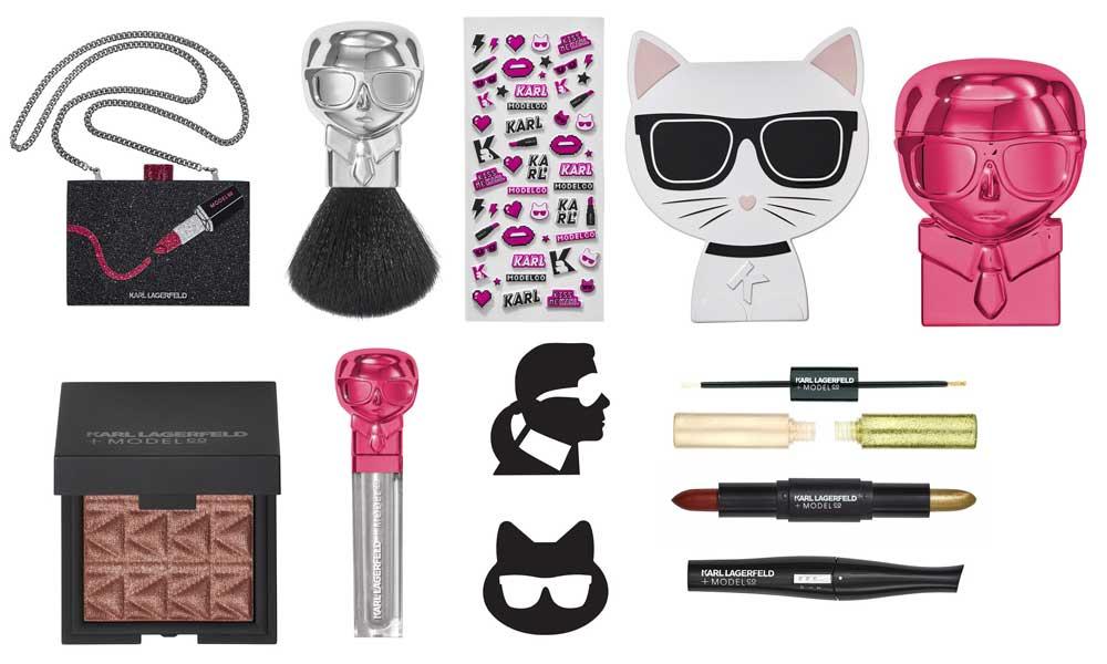 Beauty alert: Karl Lagerfeld ha lanciato una linea di make up