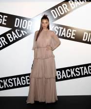 Bella Hadid in Dior al Dior Backstage launch party, Seoul