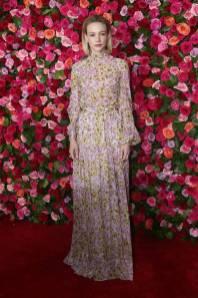 Carey Mulligan in Giambattista Valli ai 72nd Annual Tony Awards, New York