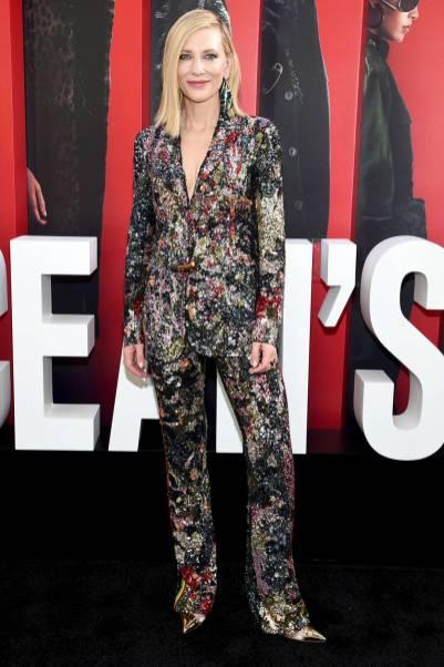 Cate Blanchett in Missoni all''Ocean's 8' World Premiere, New York
