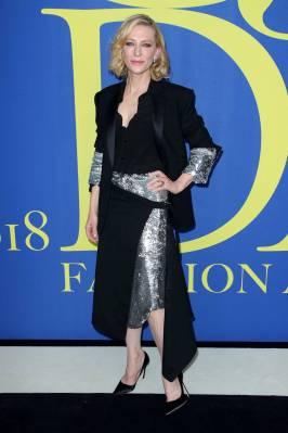 Cate Blanchett in Monse ai CFDA Awards 2018