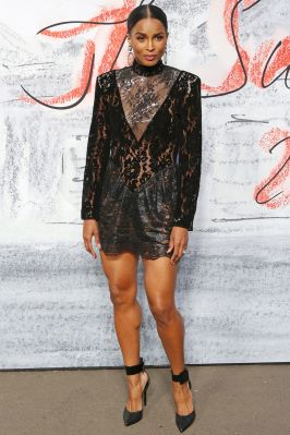 Ciara in Christopher Kane al Serpentine Gallery summer party, London.