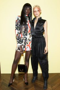 Duckie Thot, Jazzelle Zanaughtti in Burberry all'ADWOA ABOAH CELEBRATES : BURBERRY'S NEW AUTUMN/WINTER 2018 PRE-COLLECTION IN NEW YORK