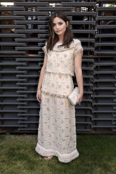 Jenna Coleman in Chanel al Serpentine Summer Party 2018, London
