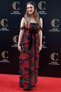 Jessica Alba in Valentino al WF Central grand opening ceremony, China.