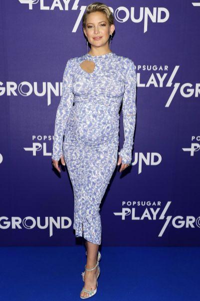 Kate Hudson in Preen al Popsugar PlayGround event, New York.