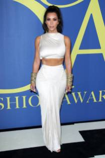 Kim Kardashian West in Rick Owens ai CFDA Awards 2018