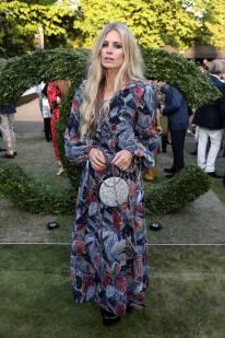 Laura Bailey in Chanel al Serpentine Summer Party 2018, London