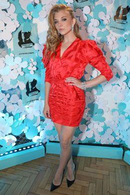 Natalie Dormer con gioielli Tiffany & Co al lancio di Tiffany & Co' Paper Flowers collection, London.