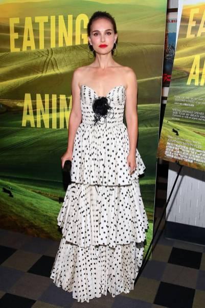 Natalie Portman all''Eating Animals' screening, New York