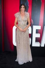Sandra Bullock in Elie Saab all''Ocean's 8' World Premiere, New York