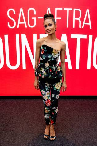 Thandie Newton al SAG-AFTRA Foundation Conversations 'Westworld', New York