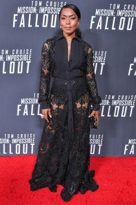 Angela Bassett alla premiere of Mission Impossible - Fallout, Washington.