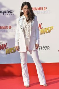 Evangeline Lilly all'European premiere of Ant-Man and the Wasp a Disneyland, Paris