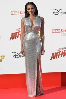 Hannah John-Kamen all'European premiere of Ant-Man and the Wasp a Disneyland, Paris