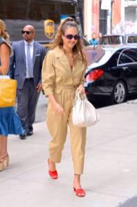 Jessica Alba, NY