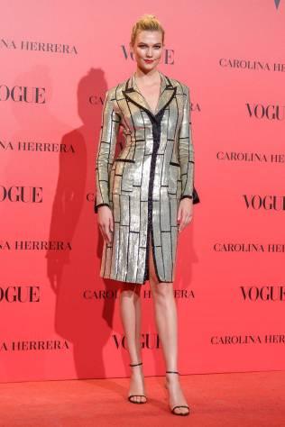 Karlie Kloss al Vogue 30th anniversary party, Madrid