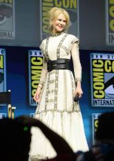 Nicole Kidman in Dior all''Aquaman' film panel, Comic Con International, San Diego