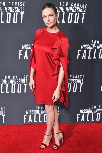 Rebecca Ferguson alla premiere of Mission Impossible - Fallout, Washington.