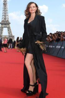 Rebecca Ferguson in Sonia Rykiel alla premiere of Mission Impossible - Fallout, Paris