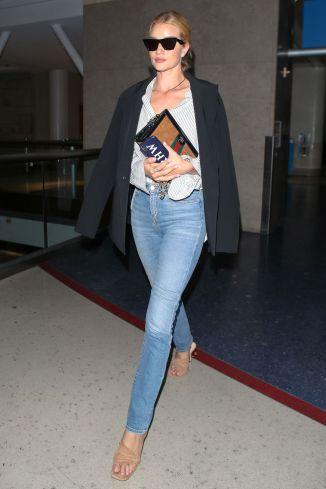 Rosie Huntington-Whiteley con borsa Gucci, Los Angeles