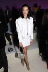 Adriana Lima in Tom Ford al Tom Ford Fashion Show, NY