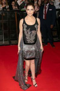 Anna Kendrick in Antonio Berardi alla premiere of A Simple Favor, Paris
